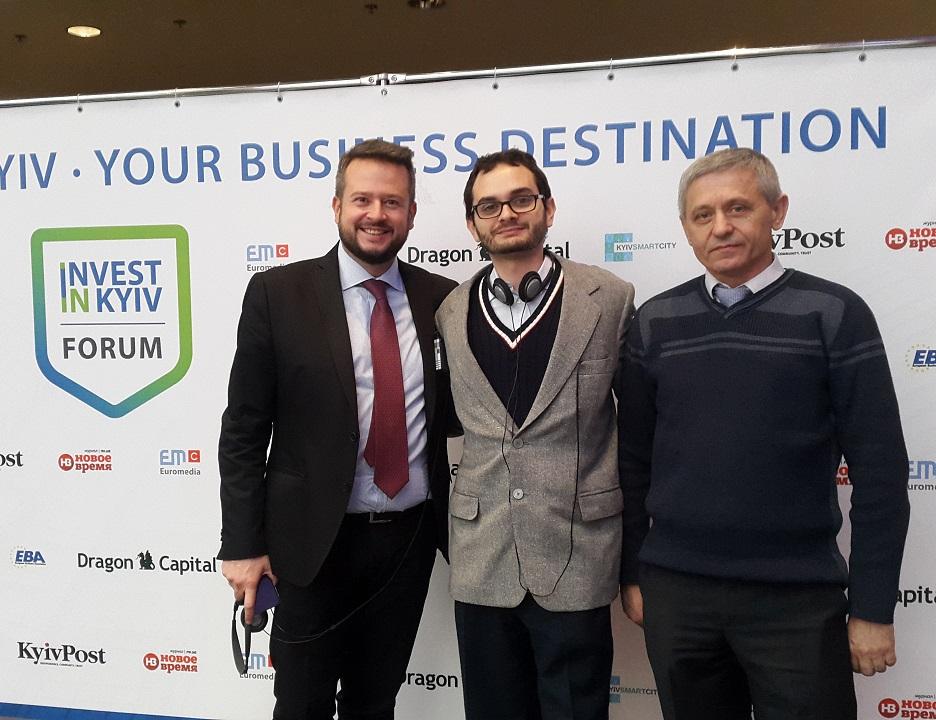 Терранова и Самгаз на форуме смарт городов