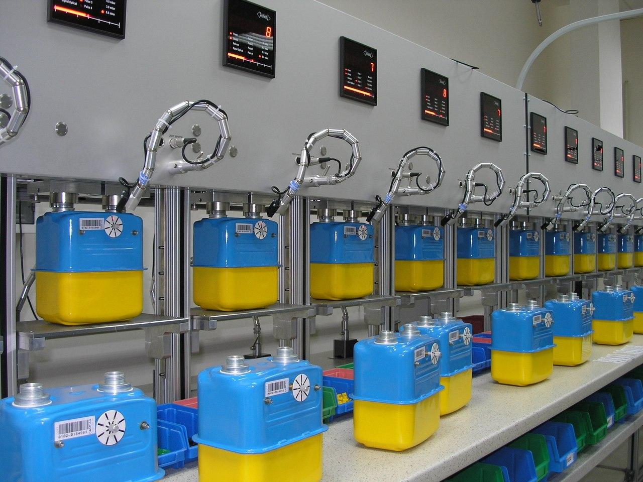 Завершение установки счетчиков газа в Тернопольской обл., Г.. Теребовля 2011 (фото 2)