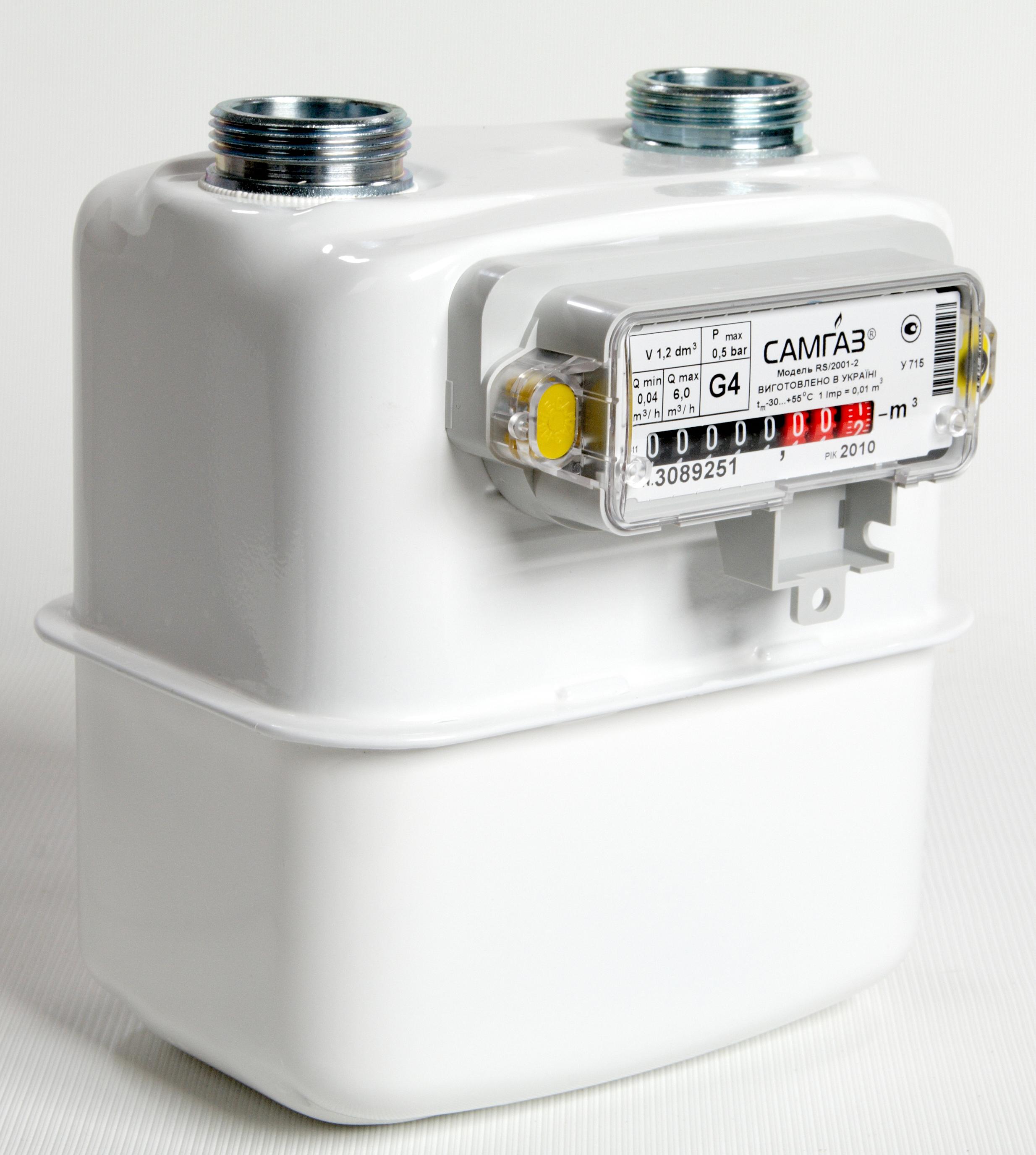 Счетчик газа G4
