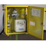 Предприятием САМГАЗ начат выпуск узлов учета газа шкафного типа