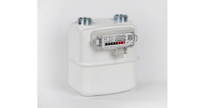 Diaphragm gas meter Samgas G4 RS/2001-2P