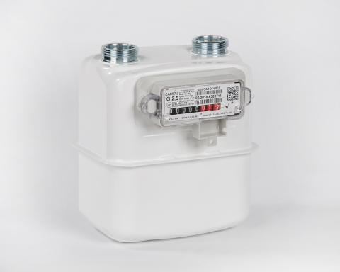 Diaphragm gas meter Samgas G2,5 RS/2001-2P