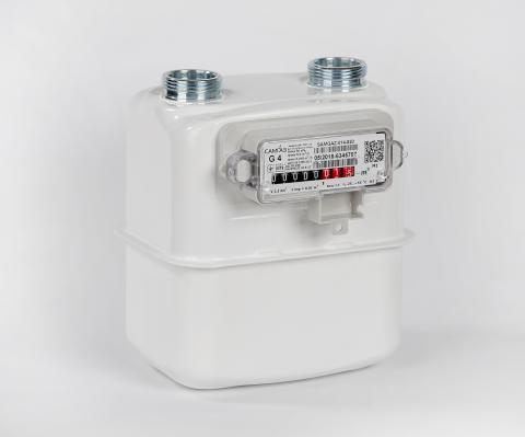 Diaphragm gas meter Samgas G4 RS/2001-2
