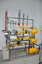 Установка для калібрування регуляторів тиску газу
